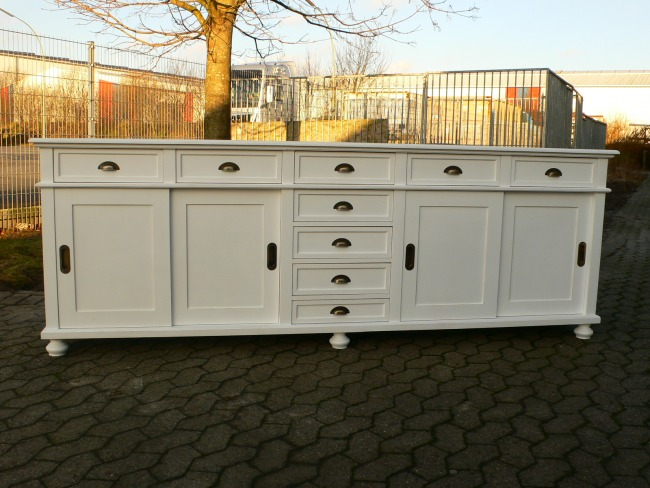 Anrichte sideboard highboard ladentheke ladenwand im for Sideboard raumteiler